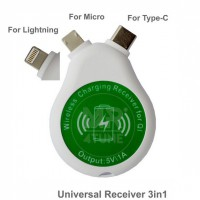 3 in 1 Wireless Receiver